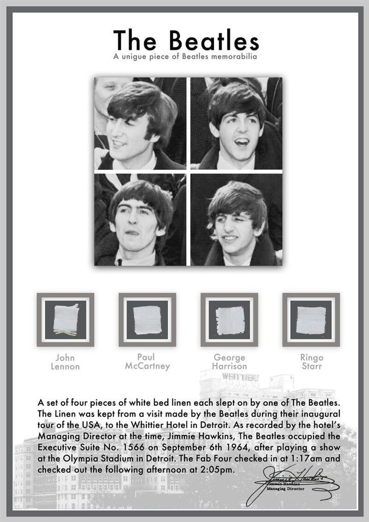 The Beatles Bed Linen