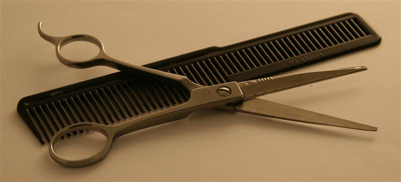 Neil Armstrong Hairdressing Scissors & Comb