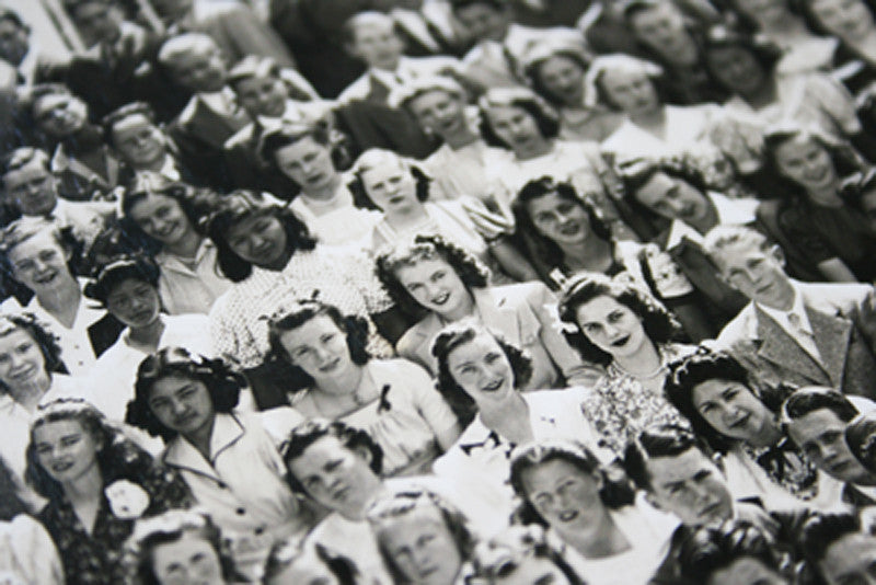 Marilyn Monroe High School Class Photograph 1941