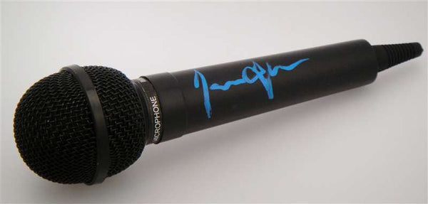 James Taylor Autograph Microphone