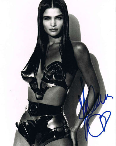 Helena Christensen Signed Photograph