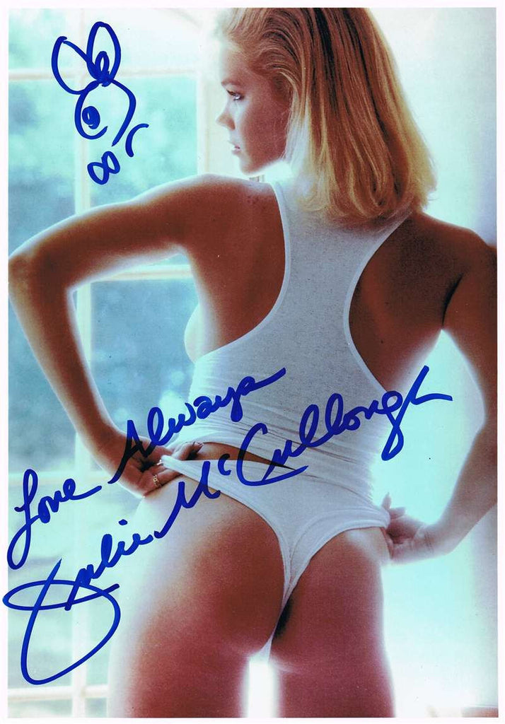 Julie McCullough Autographed Photograph