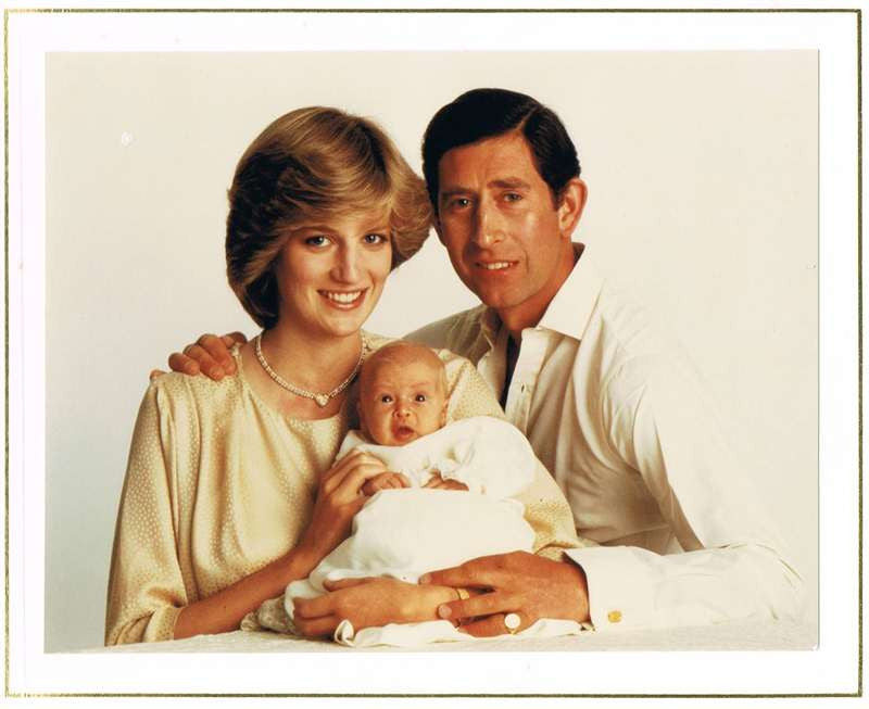 Princess Diana & Prince Charles Autographs on Christmas Card