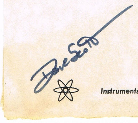 David Scott Autographed Nuclear Test Ban Treaty