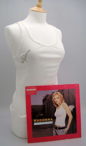 Madonna Autographed & Worn Love ProfusionTank Top