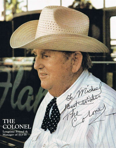 Colonel Tom Parker Autographed Photograph