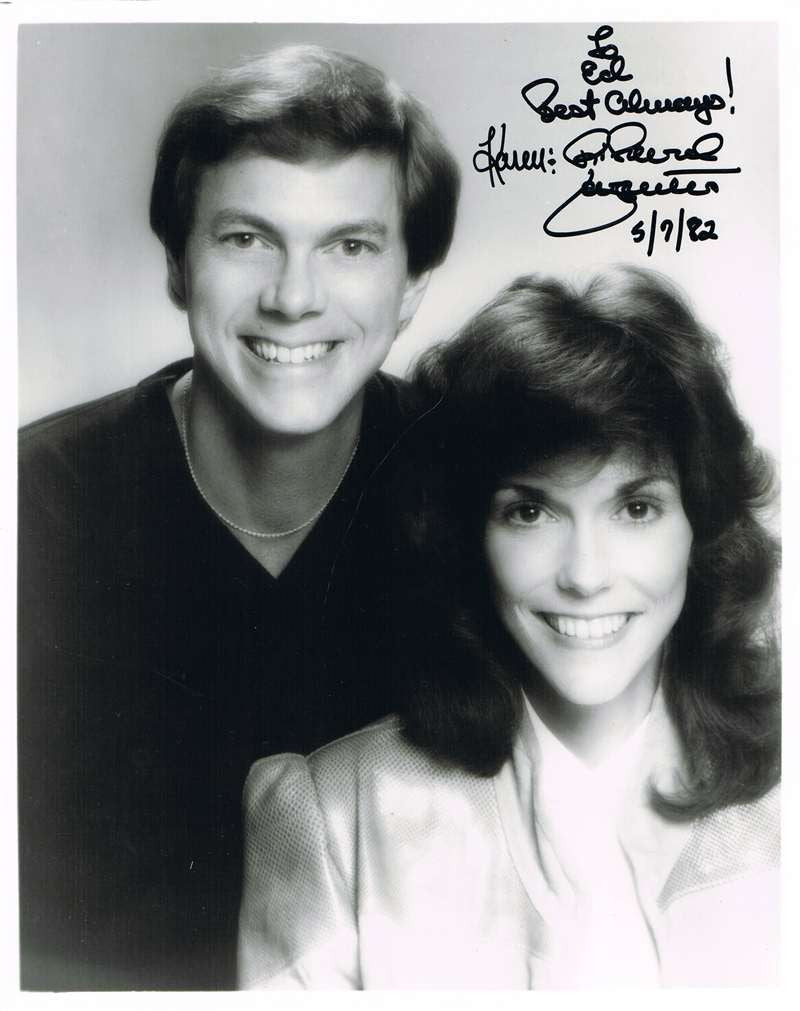 Karen & Richard Carpenter Autographed Photograph