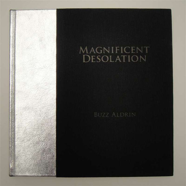 Buzz Aldrin Autographed Magnificent Desolation First Edition
