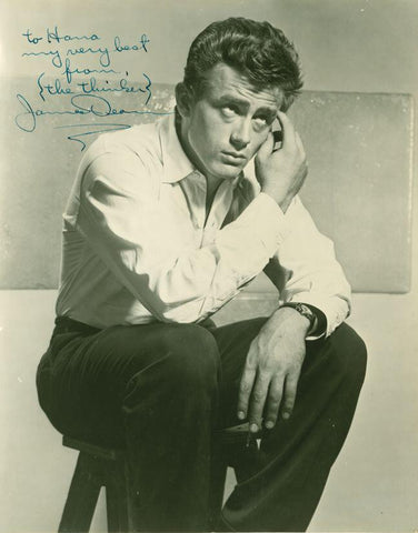 James Dean Signed Photograph