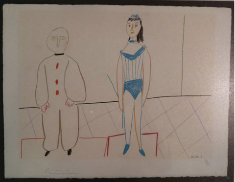 Picasso signed lithograph