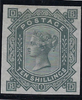 Great Britain 1878 10s Greenish grey. SG128var