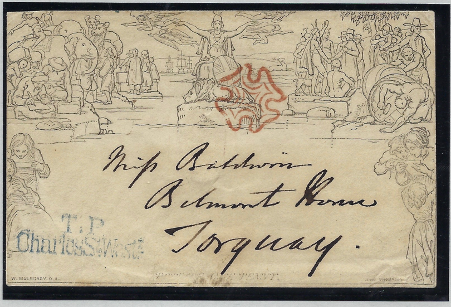Great Britain 1840 Mulready envelope forme 2. SGME2