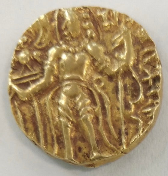 India –Gupta Dynasty Puragupta gold Dinar c.480 – 485