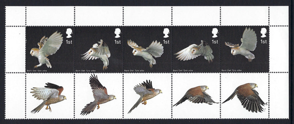 Great Britain 2003 Queen Elizabeth II 1st Birds of Prey, SG2327ab