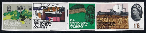 Great Britain 1964 20th International Geographical Conference (Ordinary).  SG651/4var