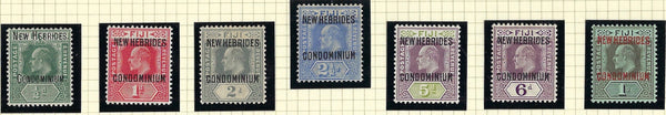 New Hebrides 1910 King George V (15 Dec)  SG10/16