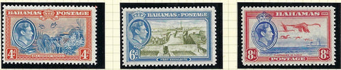 Bahamas 1938 (1 July) King George VI Watermark Multiple Script CA. SG158/160