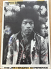 Jimi Hendrix signed card