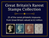 Great Britain's Rarest Stamps Collection