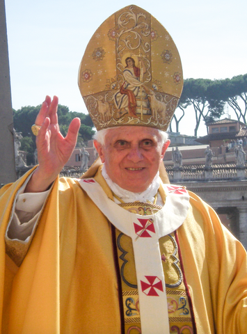Pope Benedict XVI carpet