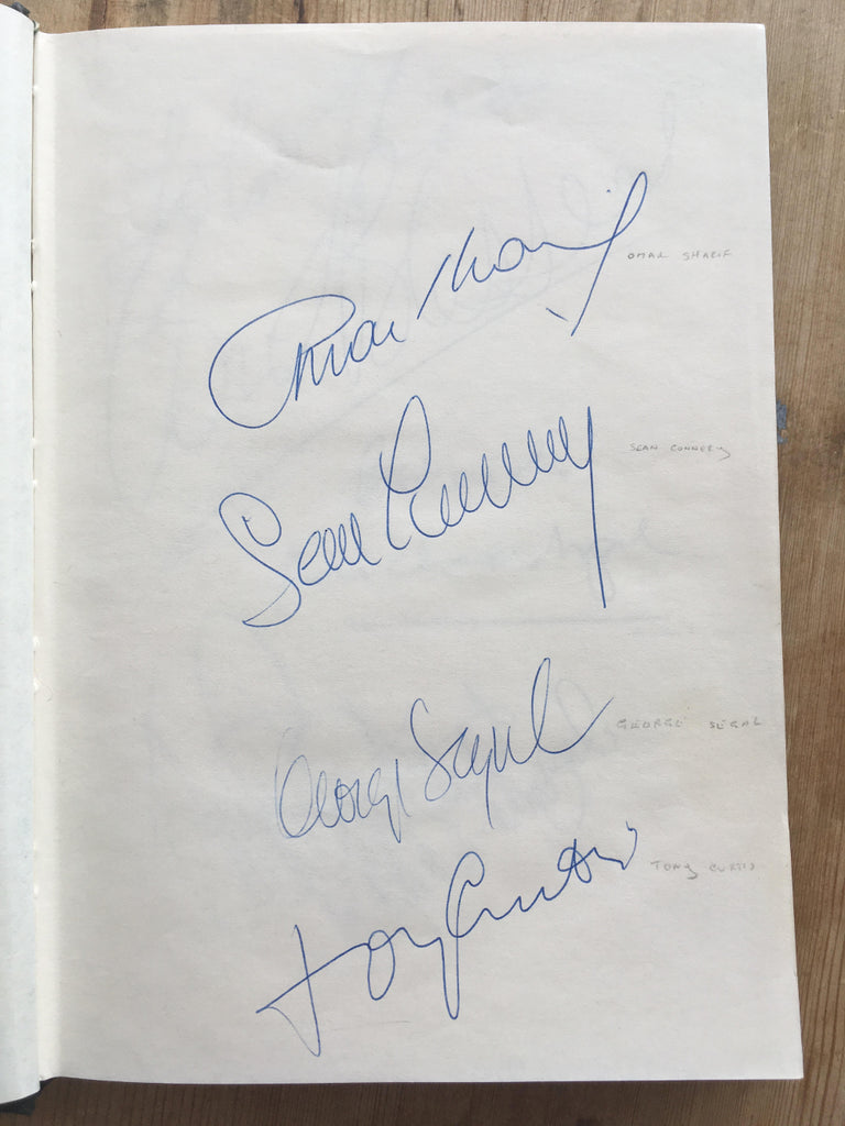 autograph book featuring more than 170 famous signatures paul