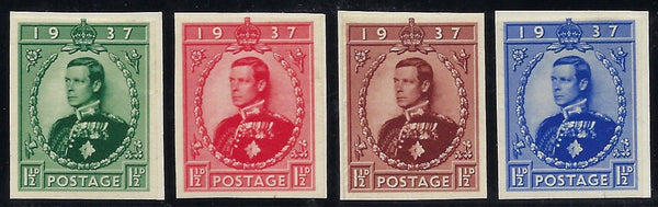 Great Britain 1936 (Sept) 1½d Edward VIII Coronation Essays SG459var