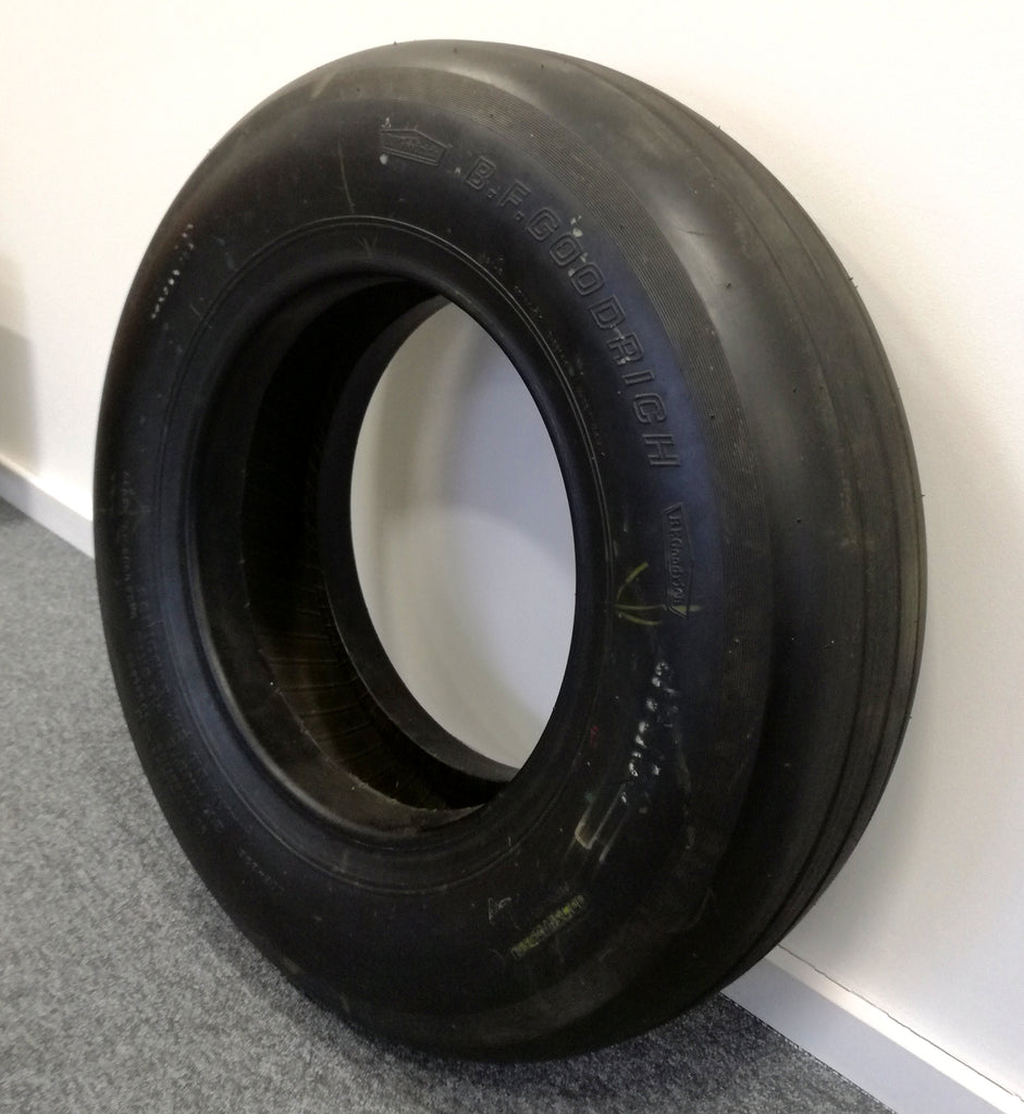 Space Shuttle Columbia mission-flown tyre