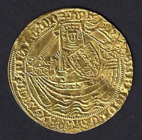 England 1422-1461 Henry VI. Gold Noble.