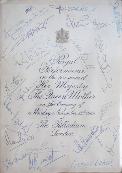England 1966 World Cup Final Autographs