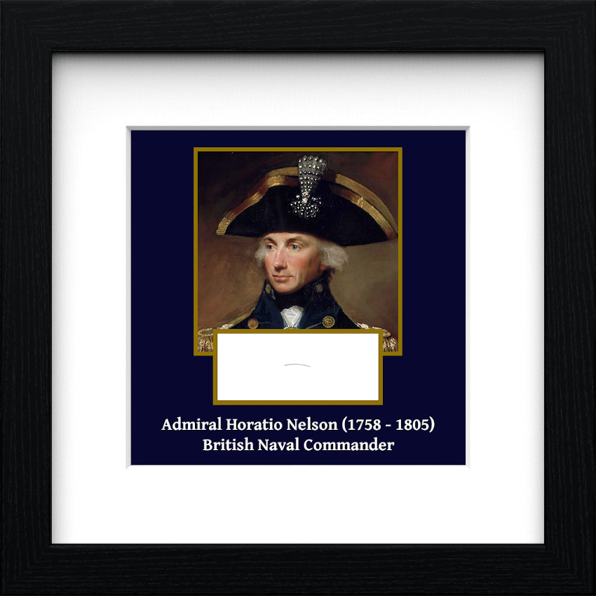 Admiral Horatio Lord Nelson Authentic Strand of Hair