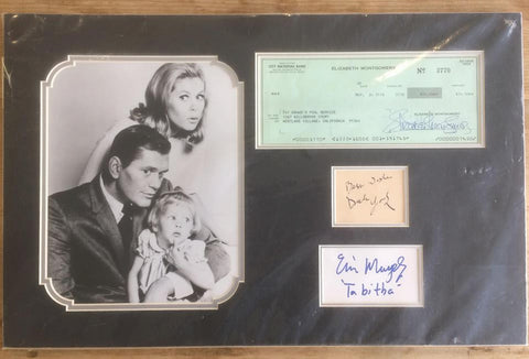 Bewitched autograph collection