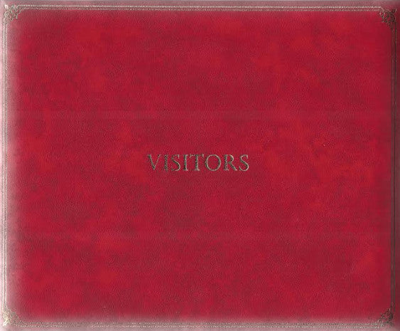 Charles and Diana signed visitor's book