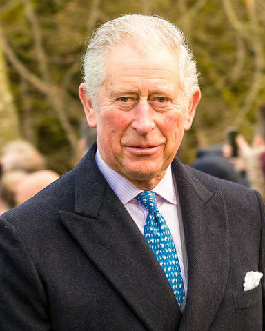 Prince Charles Authentic Strand of Hair