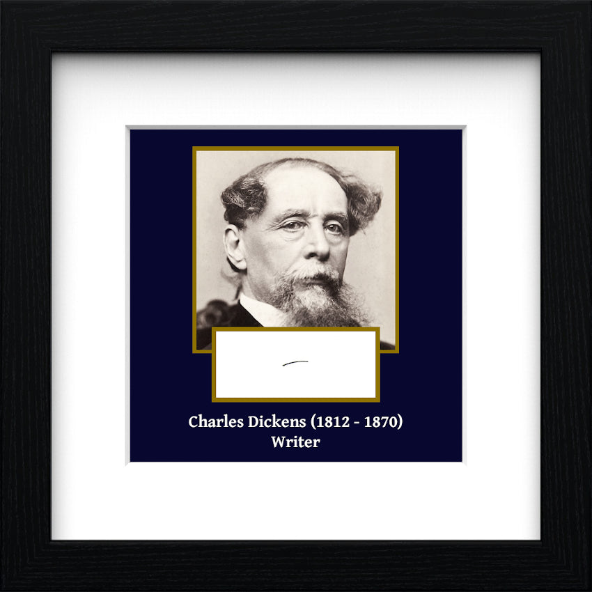 Charles Dickens Authentic Strand of Hair
