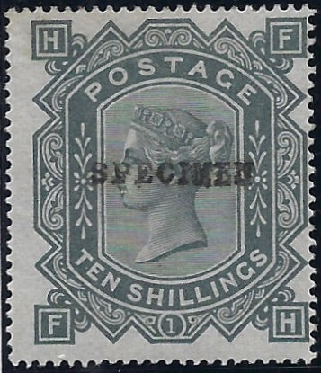 Great Britain 1865 6d Deep lilac plate proof Plate 6. SG96var