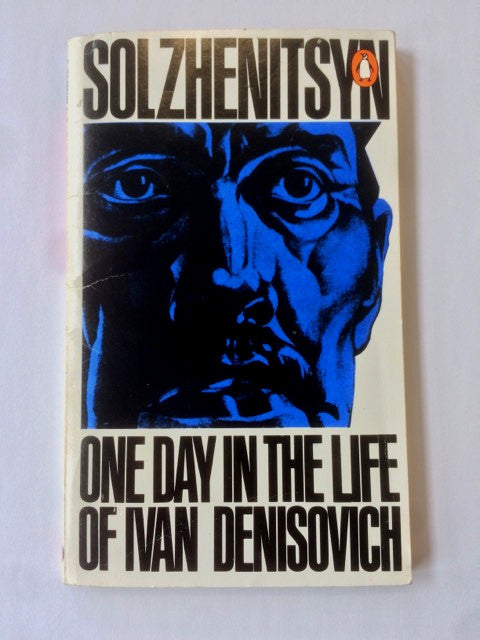 Alexandr Solzhenitsyn signed copy of One Day in the Life of Ivan Denisovich