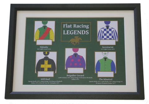 Flat Racing Legends: racehorse hair collection
