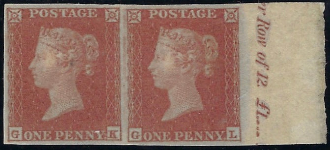 Great Britain 1841 1d Red brown P1.131, SG8.