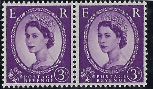 Great Britain 1959 3s Deep Violet