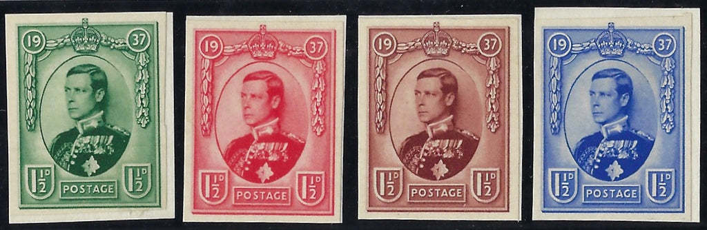 Great Britain 1936 (Sept) 1½d Edward Vlll Coronation Essays, SG459