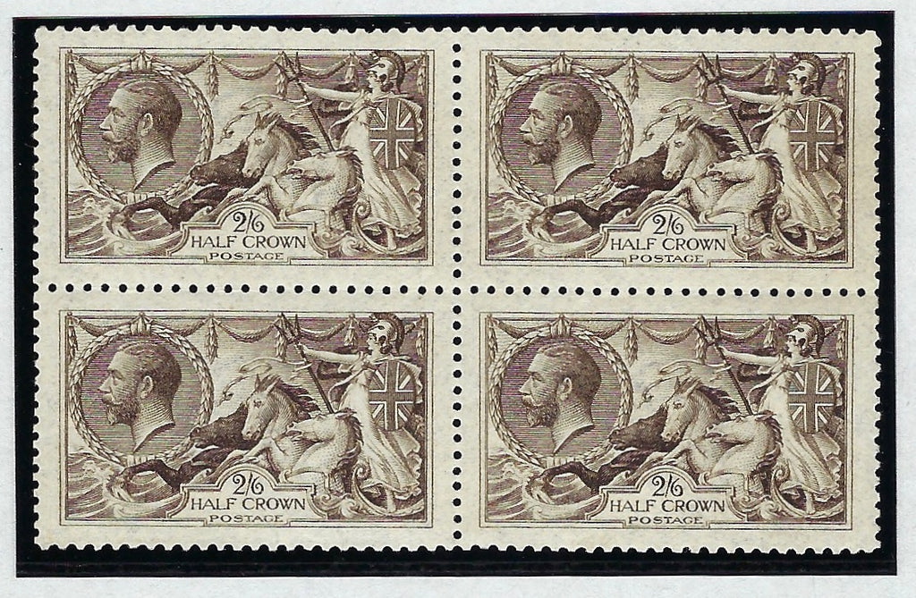 Great Britain 1915 2s6d blackish brown