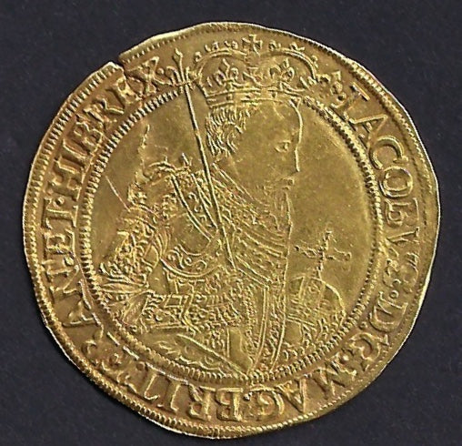 England, 1604-05 James I gold unite
