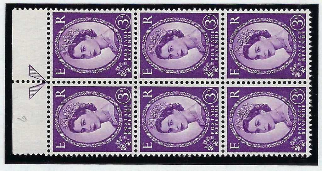 Great Britain 1959 Queen Elizabeth II 3d deep violet