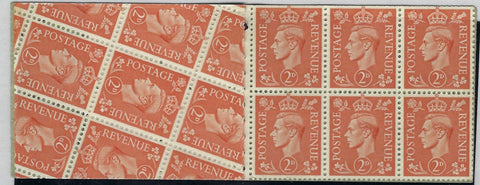 Great Britain 1949 2s6d Booklet (Edition June 1949), SG488b.