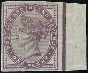 Great Britain 1881 Queen Victoria Surface Printed 1d mauve, SG174a