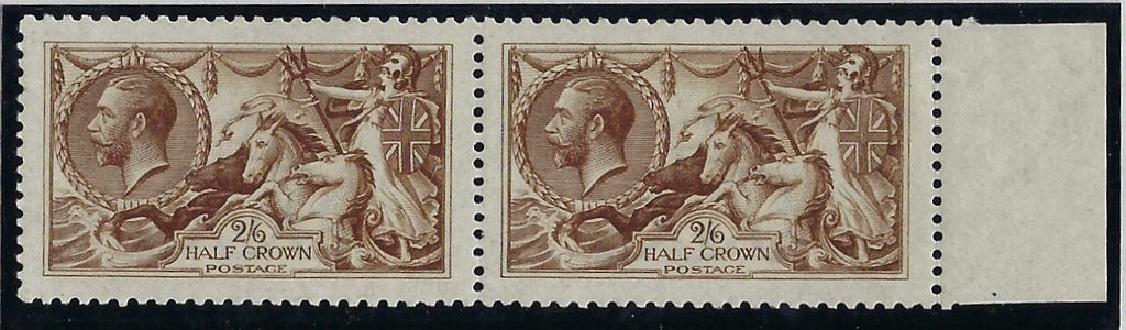 Great Britain 1915 2s6d Deep yellow brown, SG405