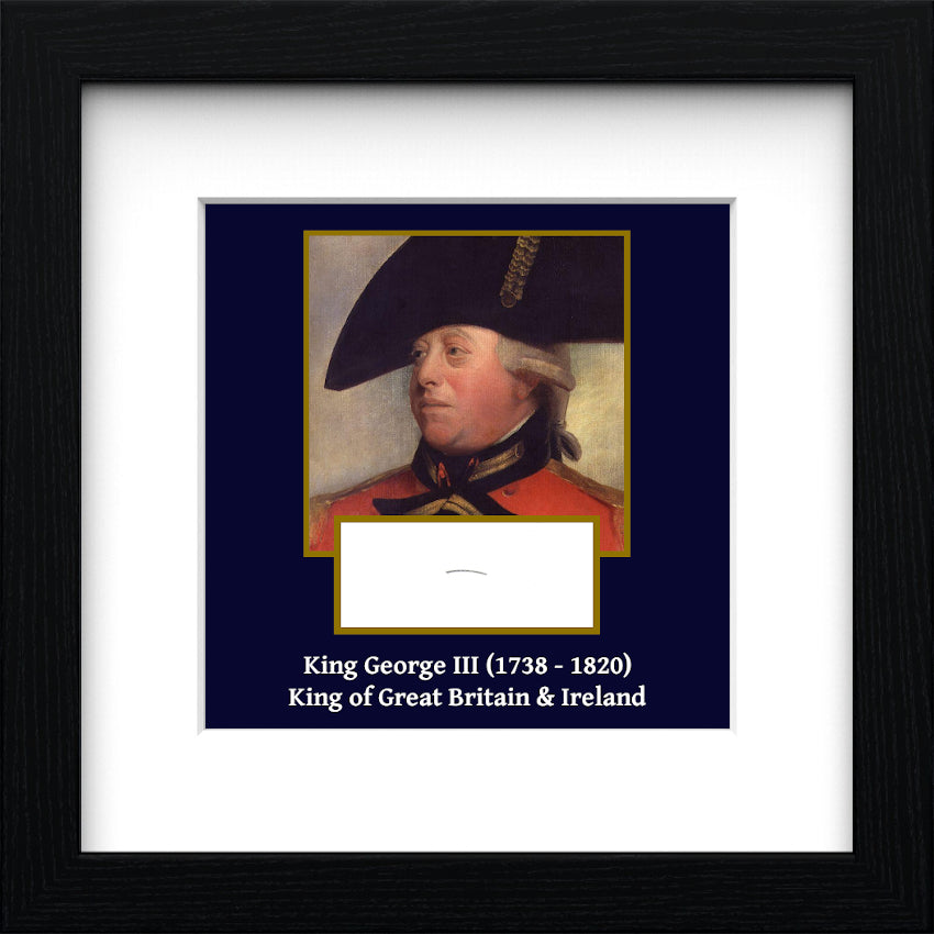King George III Authentic Strand of Hair