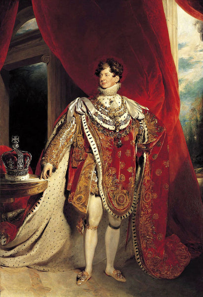 King George IV Hair Strand
