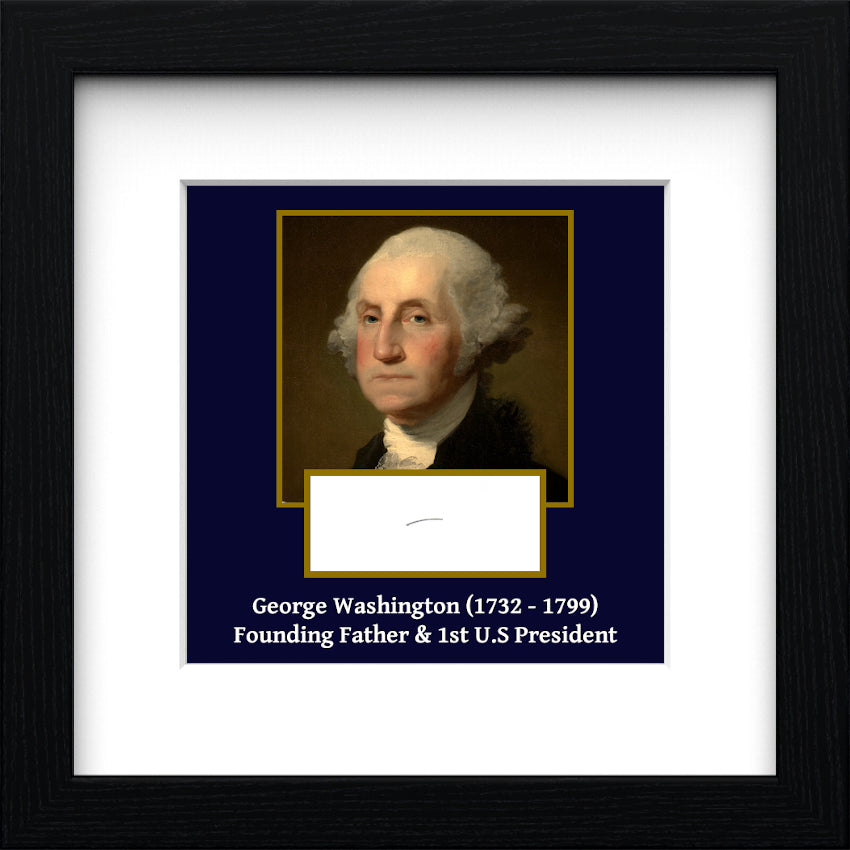 President George Washington Authentic Strand of Hair