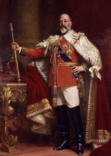King Edward VII Hair Strand